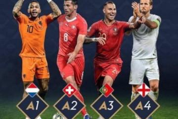 欧国联买球APP指南A组小组冠军进入四强决赛
